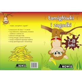 Łamigłówki i zagadki 7-8 latki - ANOWIS