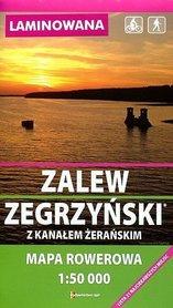 ZALEW ZEGRZYŃSKI mapa rowerowa laminowana 1:50 000 RAJD