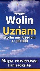 WYSPY WOLIN I UZNAM mapa rowerowa papierowa 1:50 000 RAJD