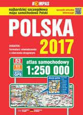 POLSKA atlas samochodowy 1:250 000 PWN 2017 !!!