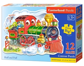 HUFF AND PUFF - PUZZLE 12 MAXI - CASTORLAND