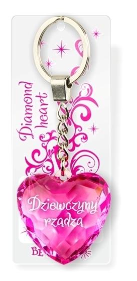 Brelok Serce diamentowe - Dziewczyny Rządzą
