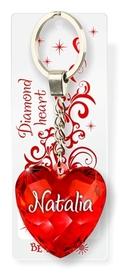 Brelok Serce Diamentowe - Natalia