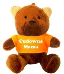 BRELOK MIŚ - CUDOWNA MAMA