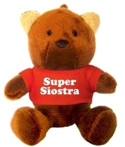 BRELOK MIŚ - SUPER SIOSTRA