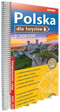POLSKA ATLAS DLA TURYSTÓW 1:300 000 EXPRESSMAP 2017/2018