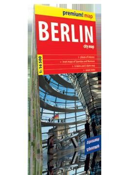 Berlin plan miasta w kartonowej okładce 1:16 500 wer. ang  EXPRESSMAP