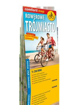 Rowerowe Trójmiasto laminowany rowerowy plan miasta 1:26 000 EXPRESSMAP