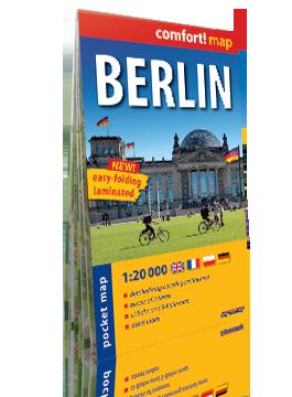 BERLIN KIESZONKOWY laminowany plan miasta 1:20 000 wersja angielska EXPRESSMAP