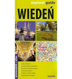 Wiedeń (wydanie II) przewodnik + atlas EXPRESSMAP
