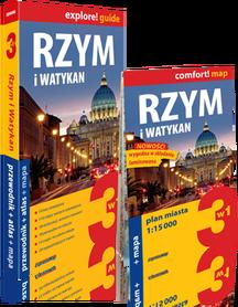RZYM I WATYKAN 3w1 przewodnik + atlas + mapa EXPRESSMAP 2018