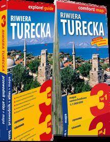 RIWIERA TURECKA 3w1 przewodnik + atlas + mapa EXPRESSMAP
