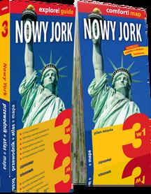 NOWY JORK 3w1 przewodnik + atlas + mapa EXPRESSMAP