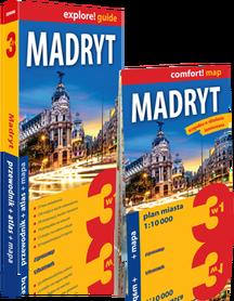 MADRYT 3w1 przewodnik + atlas + mapa EXPRESSMAP