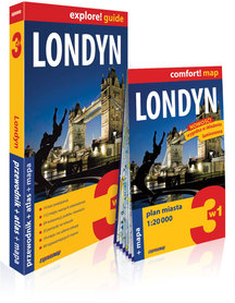 LONDYN przewodnik + atlas + mapa EXPRESSMAP 2019