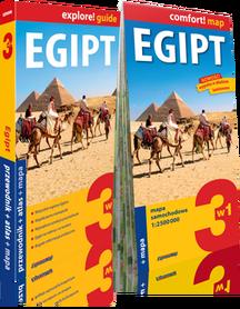 EGIPT 3w1 przewodnik + atlas + mapa EXPRESSMAP