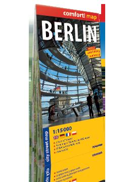 Berlin laminowany plan miasta 1:15 000 wersja angielska EXPRESSMAP