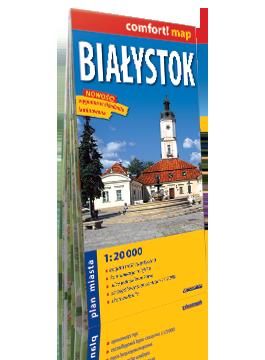 Białystok laminowany plan miasta 1:20 000 EXPRESSMAP