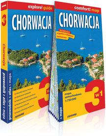 CHORWACJA 3w1 przewodnik + atlas + mapa EXPRESSMAP 2019