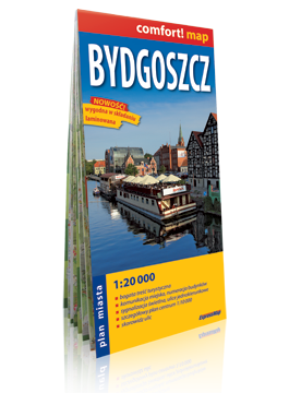 Bydgoszcz laminowany plan miasta 1:20 000 EXPRESSMAP