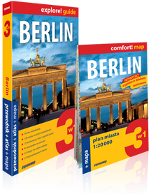 BERLIN 3w1 przewodnik + atlas + mapa EXPRESSMAP