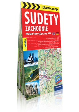SUDETY ZACHODNIE FOLIOWANA mapa turystyczna EXPRESSMAP