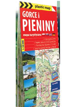 GORCE I PIENINY foliowana mapa turystyczna 1:50 000 EXPRESSMAP