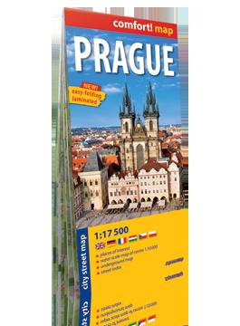 Praga laminowany plan miasta 1:17 500 wersja angielska  EXPRESSMAP
