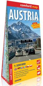 AUSTRIA laminowana mapa samochodowa 1:500 000 wersja angielska EXPRESSMAP 2018