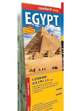 Egipt laminowana mapa samochodowo-turystyczna 1:2 500 000 wer.ang EXPRESSMAP
