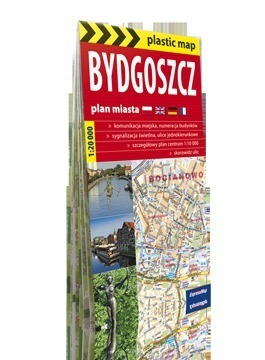 Bydgoszcz foliowany plan miasta EXPRESSMAP