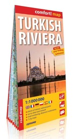 RIWIERA TURECKA mapa laminowana 1:1 000 000 EXPRESSMAP
