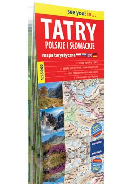 TATRY POLSKIE I SŁOWACKIE papierowa mapa turystyczna 1:55 000 EXPRESSMAP