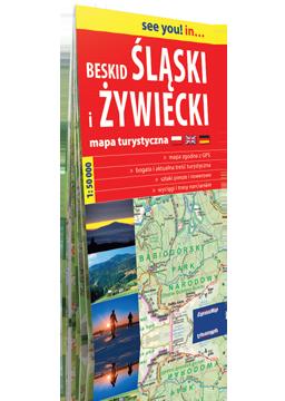 BESKID ŚLĄSKI I ŻYWIECKI papierowa mapa turystyczna 1:50 000 EXPRESSMAP 2016