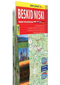 BESKID NISKI mapa turystyczna 1:70 000 EXPRESSMAP
