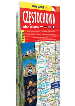 CZĘSTOCHOWA papierowy plan miasta plan miasta EXPRESSMAP