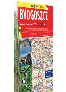 BYDGOSZCZ papierowy plan miasta 1:20 000 EXPRESSMAP