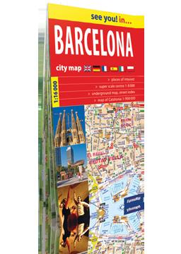 BARCELONA papierowy plan miasta ver. angielska EXPRESSMAP