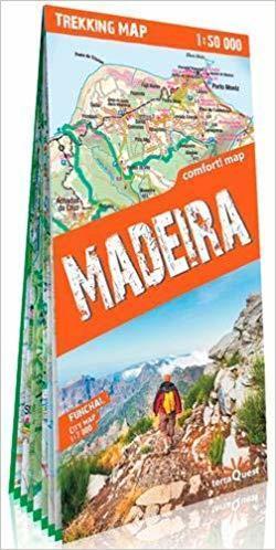 MADERA Madeira laminowana mapa trekkingowa 1:50 000 EXPRESSMAP