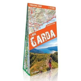 JEZIORO GARDA laminowana mapa trekkingowa 1:70 000 EXPRESSMAP