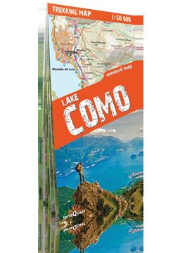 JEZIORO COMO laminowana mapa trekkingowa 1:50 000 EXPRESSMAP