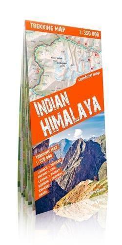 HIMALAJE INDYJSKIE laminowana mapa trekkingowa 1:350 000 EXPRESSMAP 2016