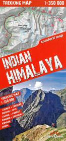 HIMALAJE INDYJSKIE laminowana mapa trekkingowa 1:350 000 EXPRESSMAP