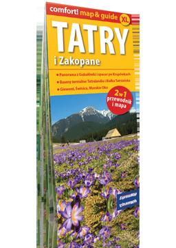 TATRY I ZAKOPANE XL 2w1 przewodnik i mapa EXPRESSMAP
