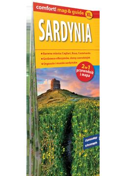 Sardynia XL 2w1 przewodnik i mapa EXPRESSMAP 2019