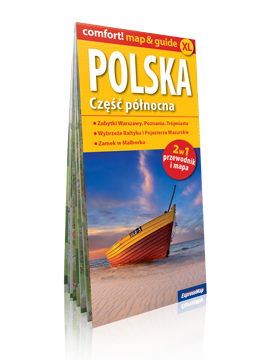 POLSKA CZĘŚĆ PÓŁNOCNA XL 2w1 przewodnik i mapa EXPRESSMAP 2016