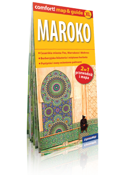 MAROKO XL 2w1 przewodnik i mapa EXPRESSMAP