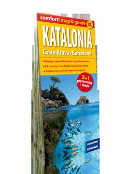 KATALONIA COSTA BRAVA BARCELONA XL 2w1 przewodnik i mapa EXPRESSMAP