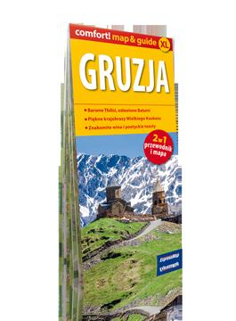 GRUZJA XL 2w1 przewodnik i mapa EXPRESSMAP
