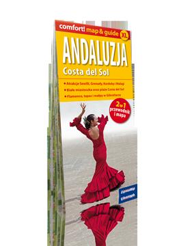 ANDALUZJA Costa del Sol 2w1 przewodnik i mapa EXPRESSMAP 2017